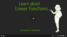 Video: Learn About Linear Functions video