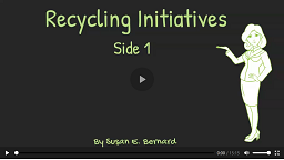 Video: Recycling Initiatives - Side 1