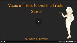Video: Value of Time to Learn a Trade - Side 2